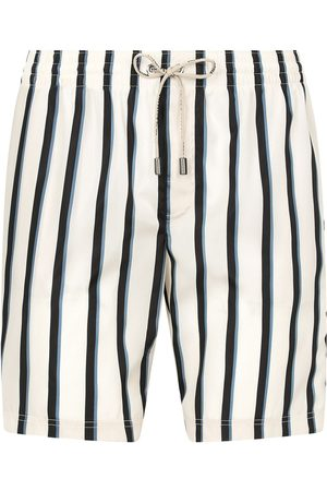 Dolce & Gabbana Men Swim Shorts - Stripe-pattern swimming trunks