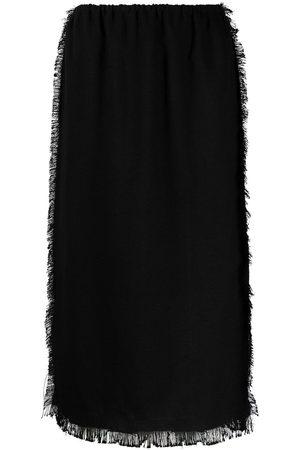 Marni Women Midi Skirts - Raw-edge midi skirt
