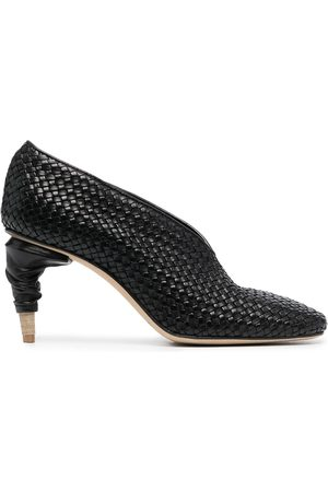 Officine creative Women Heels - Rondha weave leather pumps