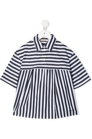 Marni Girls Blouses - Opposing stripes blouse