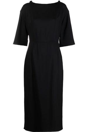 VALENTINO Women Party Dresses - Bow-detail shift dress