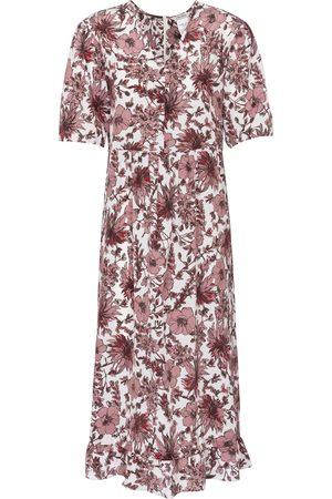 Max Mara Women Printed Dresses - Arak floral silk midi dress