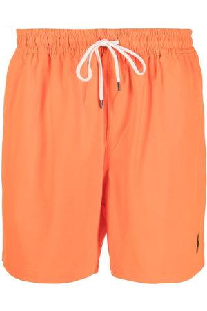 Polo Ralph Lauren Men Swim Shorts - Logo drawstring swim shorts