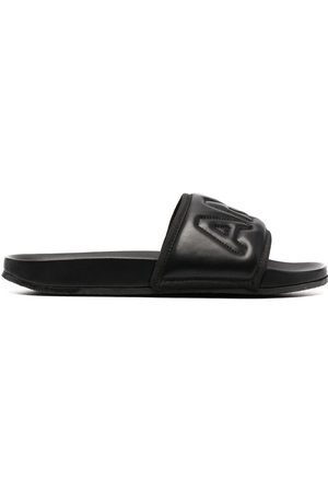 AMBUSH Padded leather slides