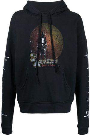 GREG LAUREN Los Angeles print hoodie