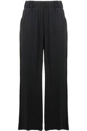FAY Women Pants - High-waisted cropped trousers