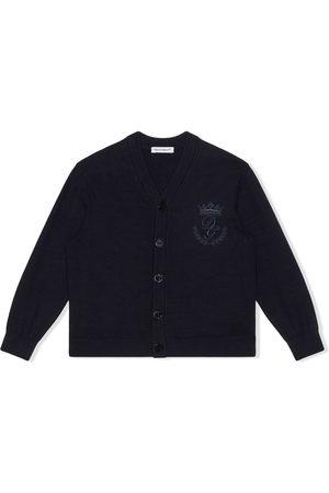 Dolce & Gabbana Logo-embroidered cardigan