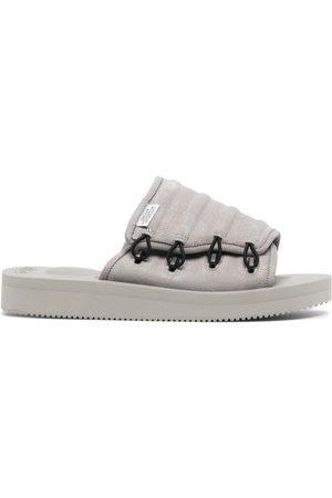 SUICOKE MURA-VS suede sandals - Grey