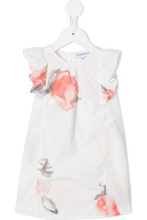 Emporio Armani Watercolour print dress