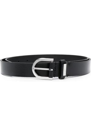 Calvin Klein 25mm round leather belt