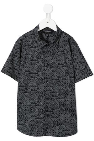 Emporio Armani All-over print short-sleeve shirt