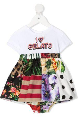 Dolce & Gabbana Baby Casual Dresses - I heart gelato-print dress