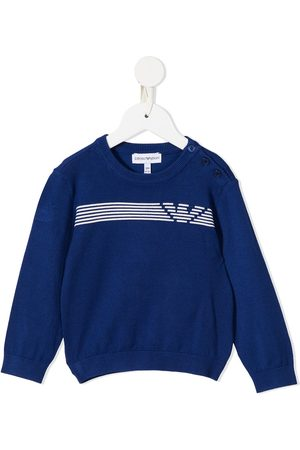 Emporio Armani Hoodies - Logo-print sweatshirt