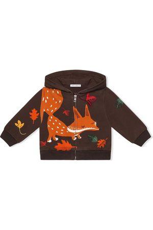 Dolce & Gabbana Hoodies - Fox-print hoodie