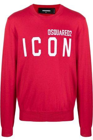 Dsquared2 Men Sweatshirts - ICON logo intarsia jumper