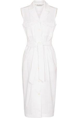 Max Mara Elica stretch-cotton shirt dress