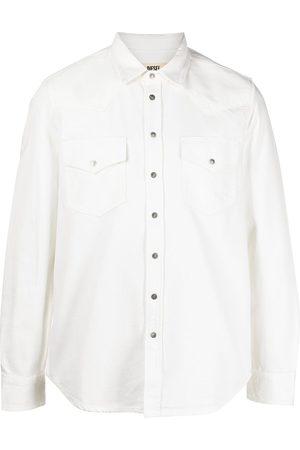 Diesel Men Denim - Western washed denim shirt