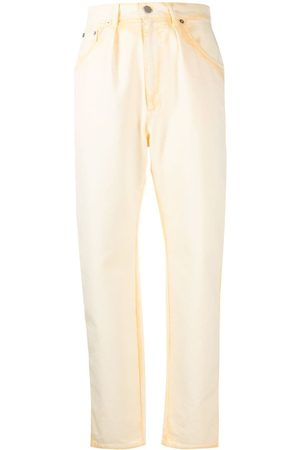 Alberta Ferretti Women Tapered - Tie-dye tapered-leg jeans
