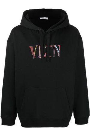 VALENTINO Hand-drawn logo hoodie