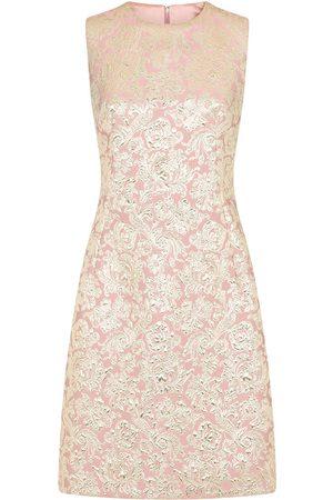 Dolce & Gabbana Floral jacquard cocktail dress