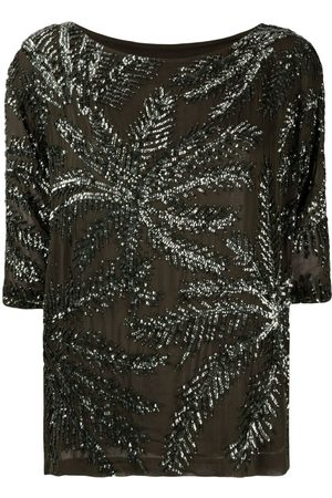 P.a.r.o.s.h. Women Blouses - Embellished shift blouse