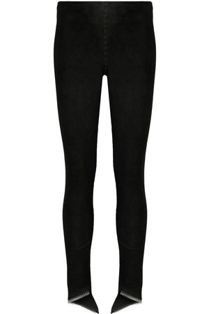 ISAAC SELLAM EXPERIENCE Women Leather Pants - Skinny leather trousers