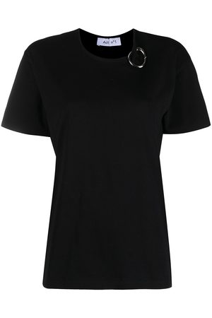 ACT N°1 Women T-shirts - Carabiner-detailed cotton t-shirt