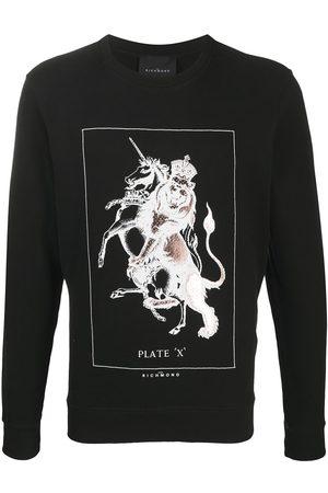 John Richmond Men Sweatshirts - Graphic print sweatshirt
