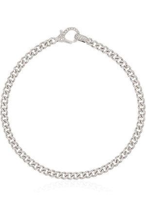 Shay Bracelets - 18kt white gold Baby pavé diamond 7 inch link bracelet