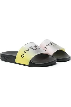 Givenchy Sandals - Logo-print open-toe slides