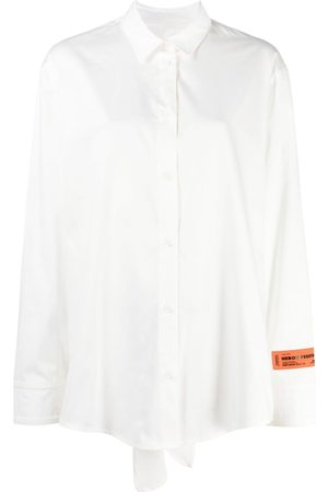 Heron Preston Women Long sleeves - Long-sleeve open-back shirt