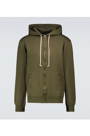 COMME DES GARÇONS HOMME DEUX Zipped hooded sweatshirt