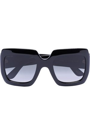 Gucci Square-frame GG acetate sunglasses