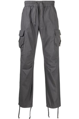 JOHN ELLIOTT Straight-leg cargo trousers - Grey