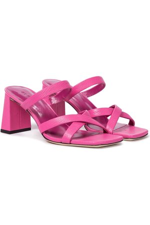 By Far Lenny leather sandals