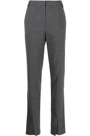tibi Women Skinny Pants - Auguste slim trousers - Grey
