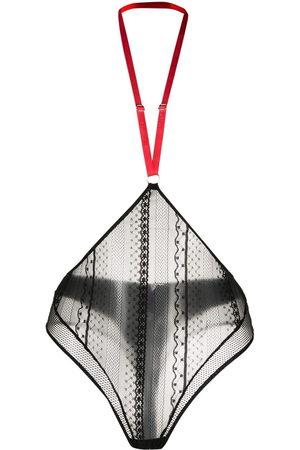 MAISON CLOSE Women Thongs - Sacré cœur string-harnais