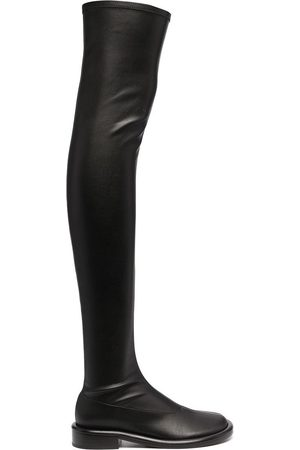 Proenza Schouler Ruched thigh-high boots