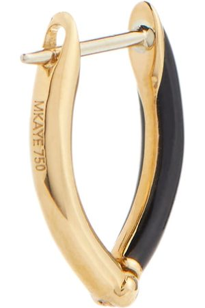 Melissa Kaye Women Hoop - Cristina 18kt gold single hoop earring