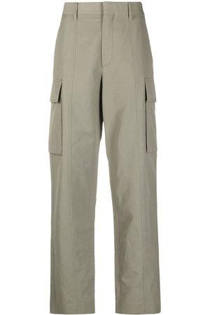 Stella McCartney Women Cargo Pants - Straight-leg cargo trousers
