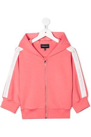 Emporio Armani Hoodies - TEEN zip-up hoodie