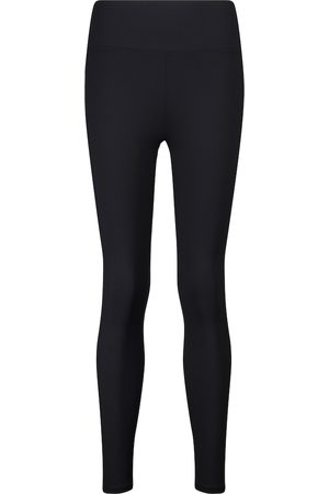 Lanston Nolan high-rise ribbed-knit leggings