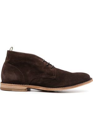 Officine creative Men Formal Shoes - Lace-up suede derby shoes