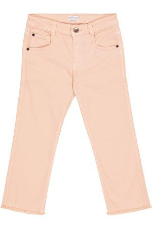 Brunello Cucinelli Stretch-cotton skinny jeans