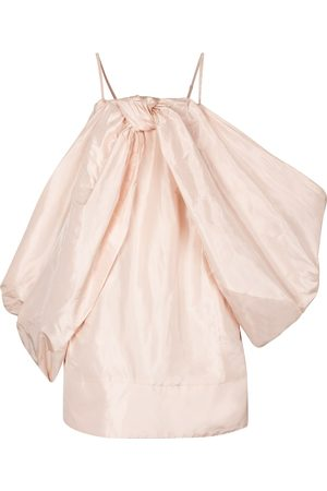 Simone Rocha Women Mini Dresses - Exclusive to Mytheresa – Silk taffeta minidress