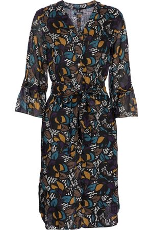 Max Mara Women Printed Dresses - Vadier floral ramie midi dress
