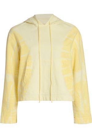 RAQUEL ALLEGRA Women Hoodies - Women's Tie Dye Crop Hoodie - Hilma - Size 0
