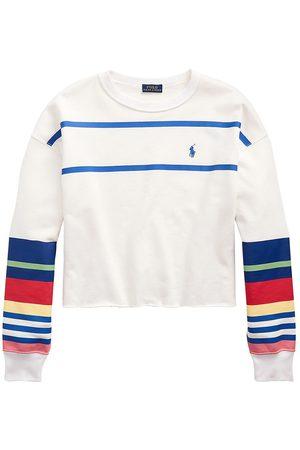 Polo Ralph Lauren Women's Striped Fleece Sweatshirt - - Size XS