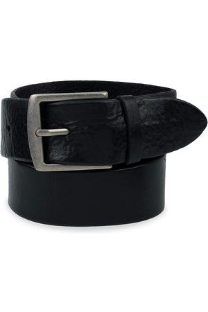 Frye Men Belts - Flat Panel Leather Belt