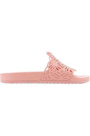 SOPHIA WEBSTER Women's Lia Slide Sandals - Peach - Size 7